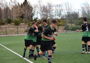 Fotos del partido Cadete A 2-2 Las Rozas CF A