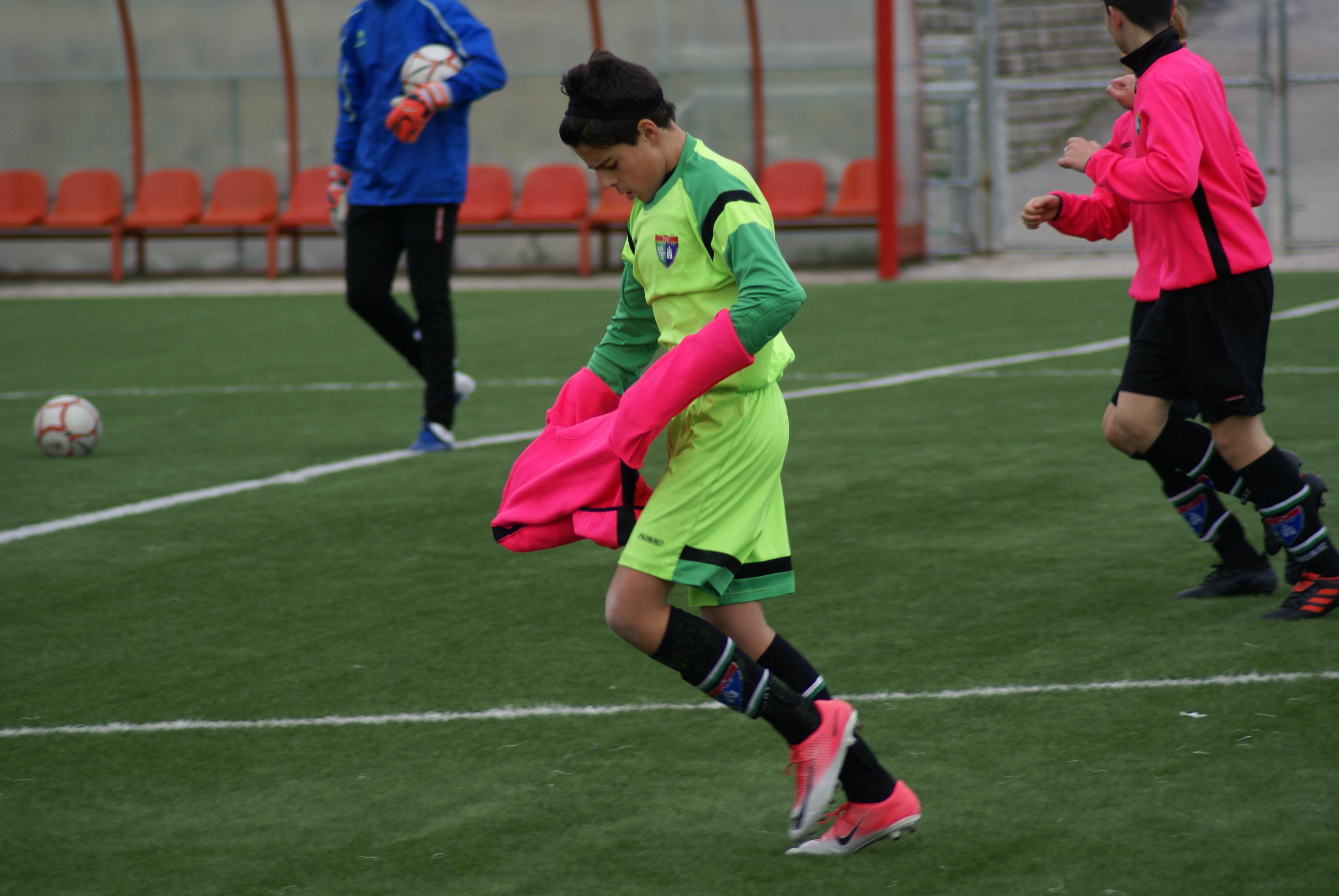 Fotos del partido de Liga Atlético de Madrid B 3-3 Infantil A