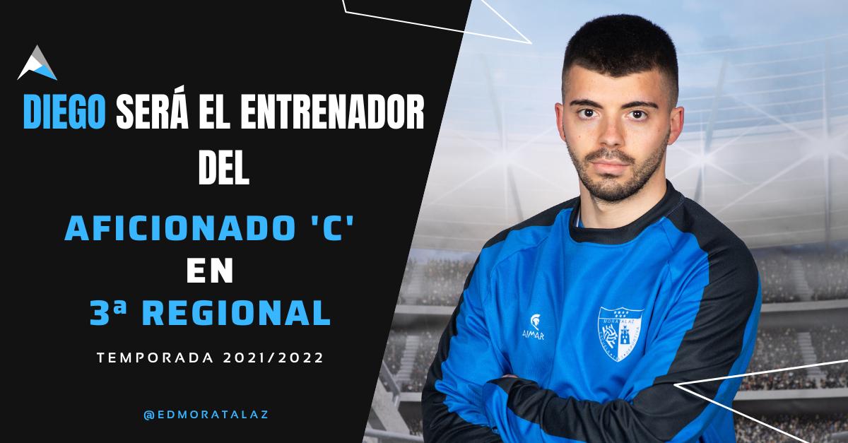 Diego Rodrigues Da Silva será el entrenador del Aficionado C