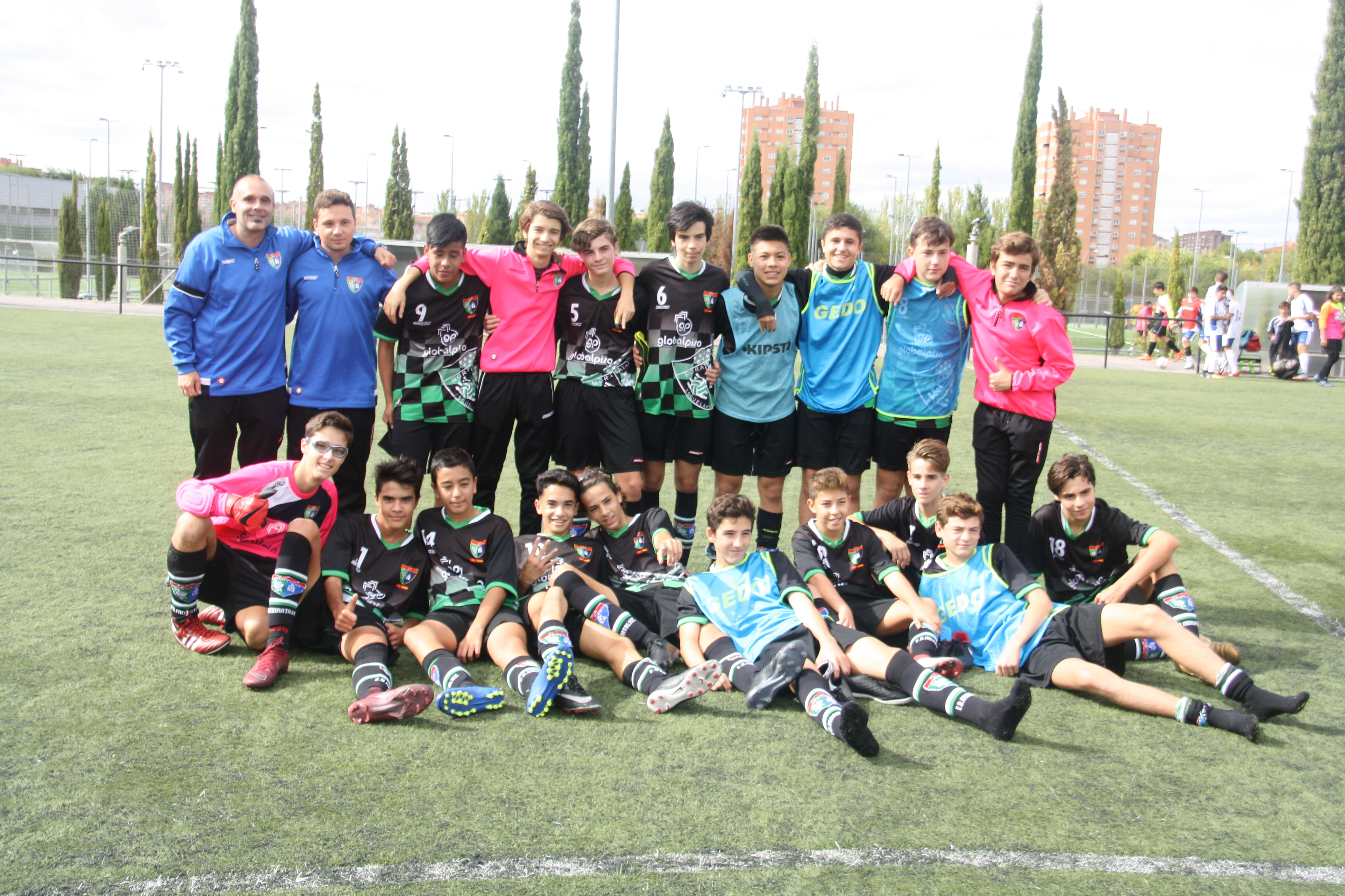 Fotogalería CD Sporting Valdebernardo – Cadete E