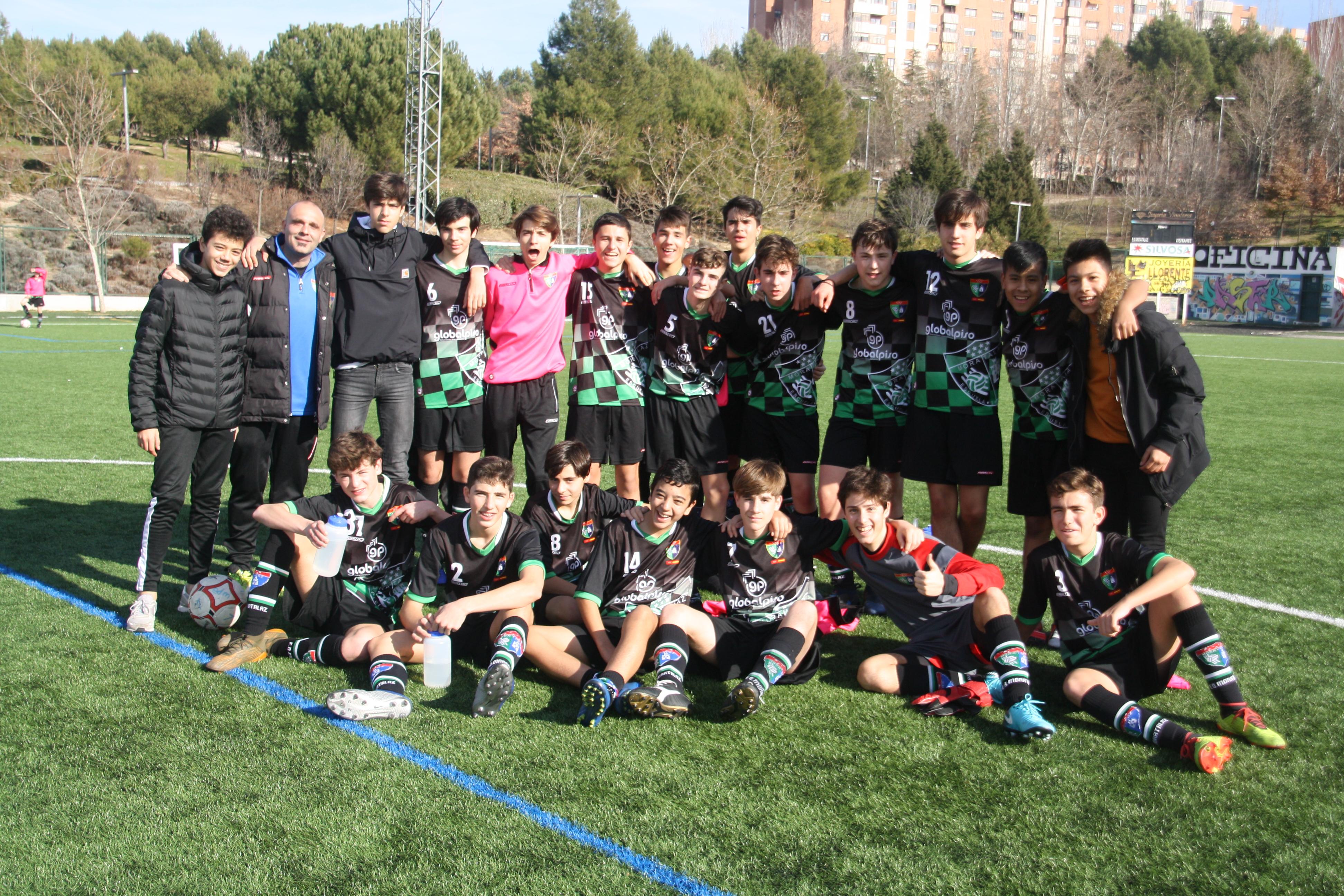 Fotogalería Cadete E – Sporting Valdebernardo