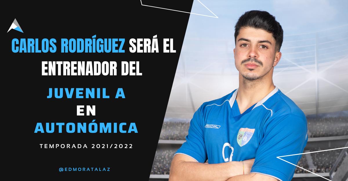 Carlos Rodríguez será el entrenador del Juvenil A