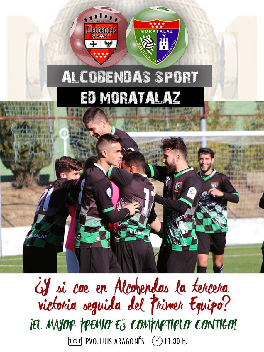 PREVIA | Fútbol Alcobendas Sport – Primer Equipo