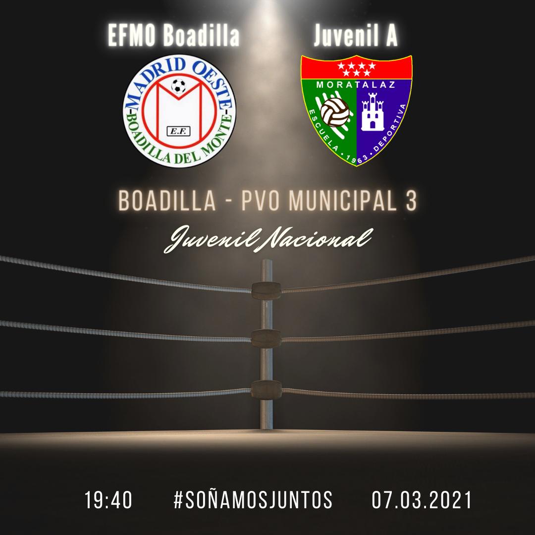 PREVIA | E.F.M.O. Boadilla – Juvenil A