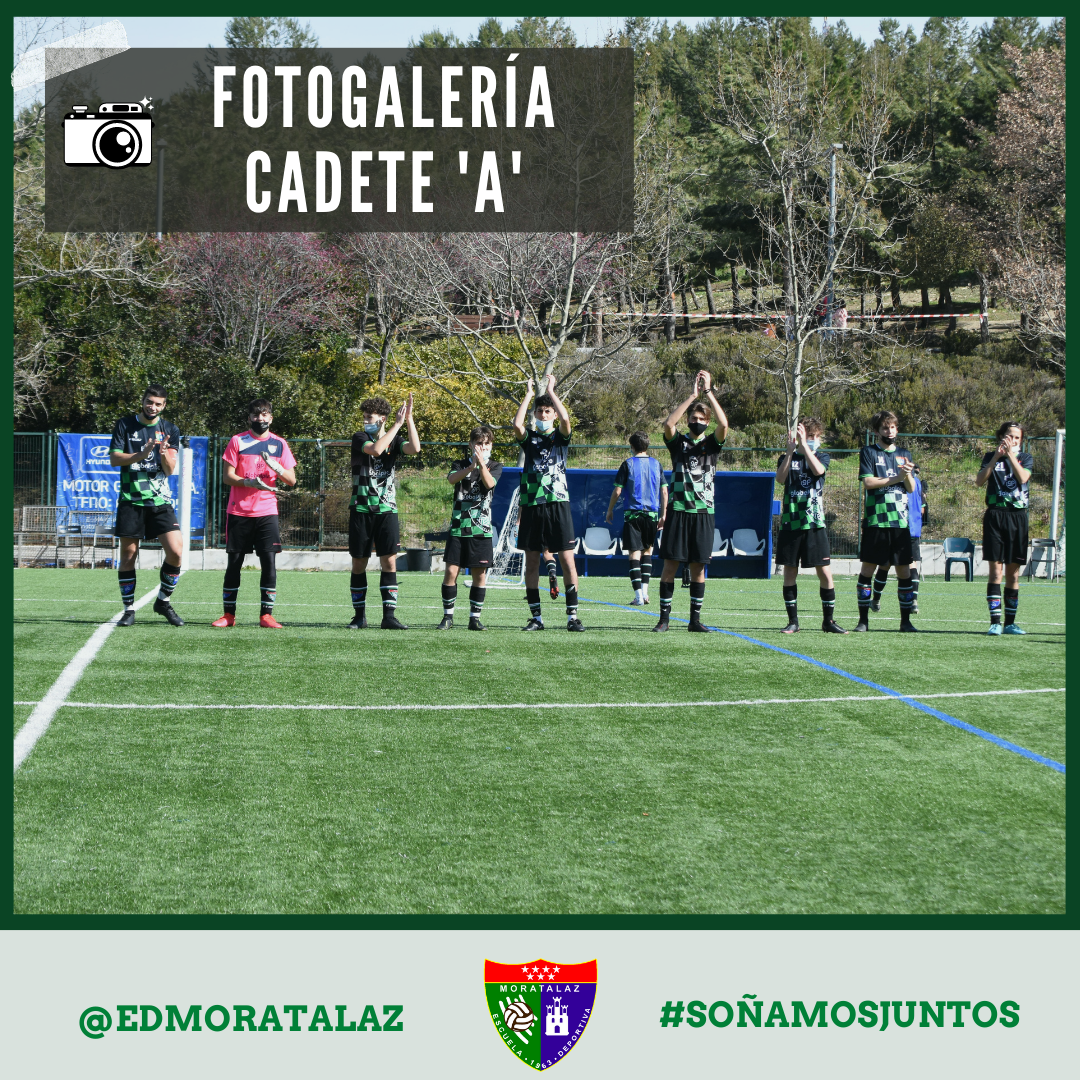Fotogalería   Cadete A – AD Unión Carrascal