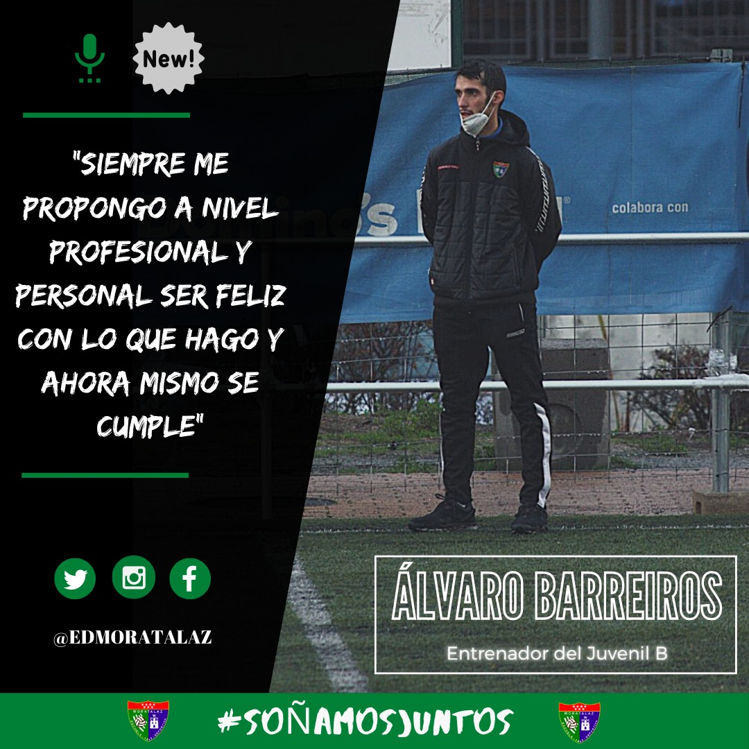 ENTREVISTA   Álvaro Barreiros: «Siempre me propongo a nivel profesional y personal ser feliz con lo que hago y ahora mismo se cumple»