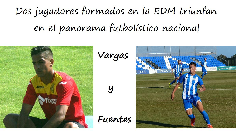 Dos jugadores formados en la EDM triunfan en el panorama futbolístico nacional