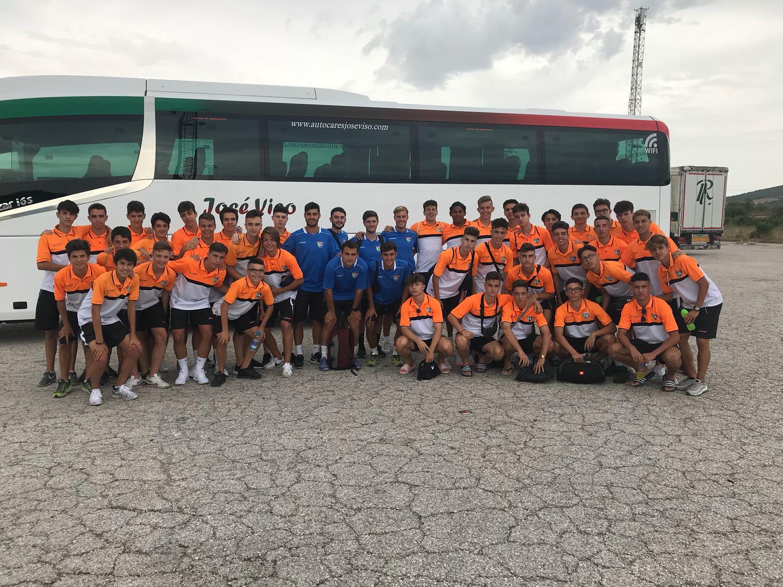 Juvenil B y Cadete A visitan Castellón para continuar con la pretemporada