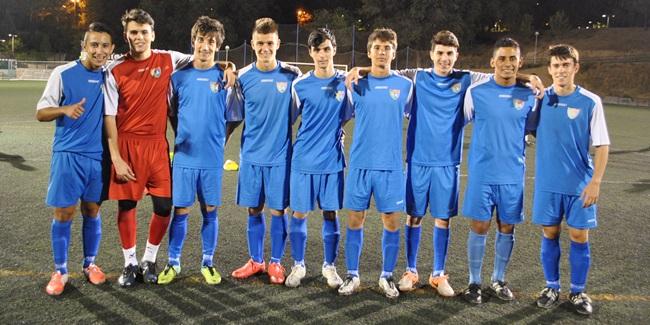 Once caras nuevas en un Aficionado B integrado casi en su totalidad por futbolistas de la Escuela