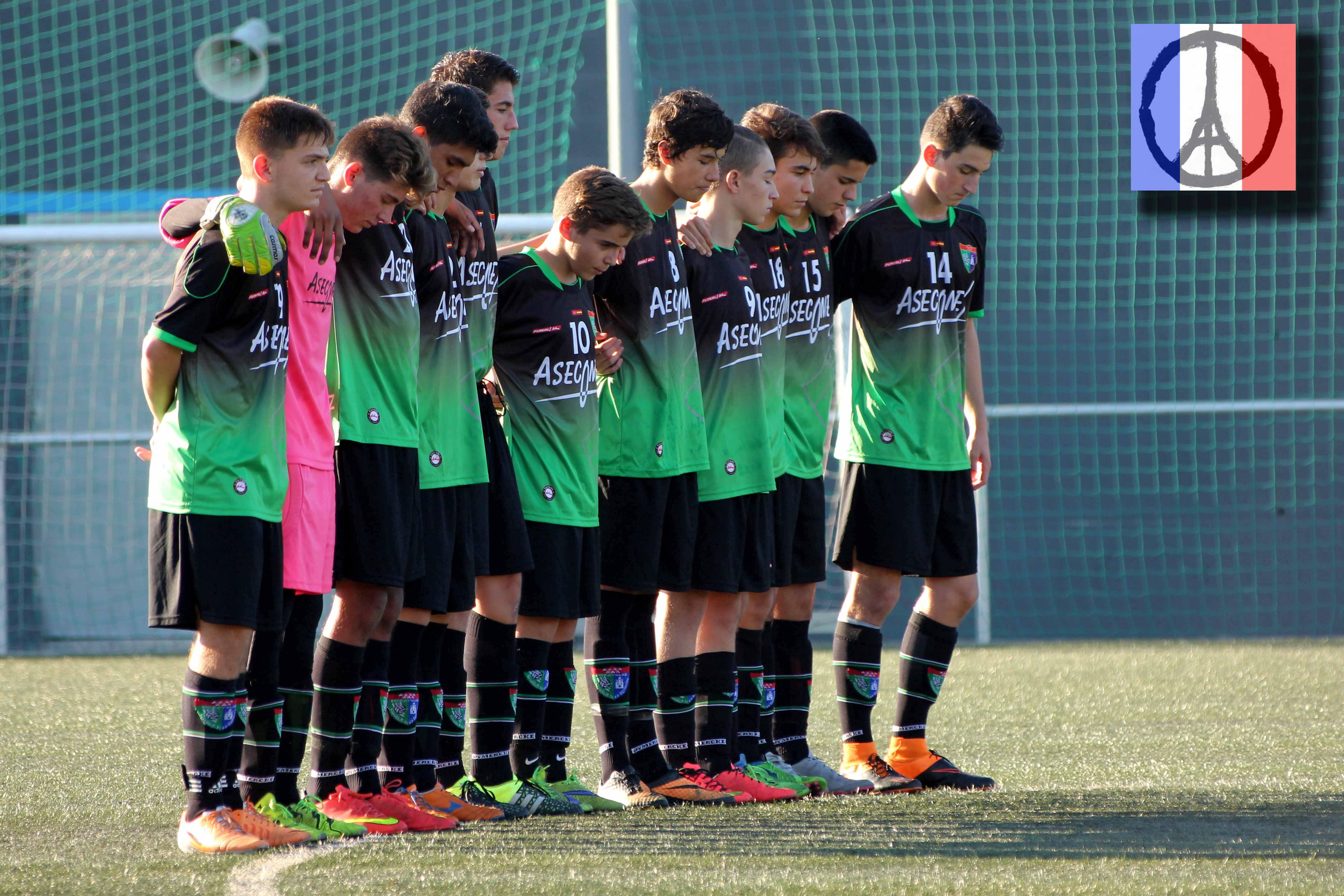 Fotos del partido de liga AD Alcorcón A 1 -0 EDM Cadete A
