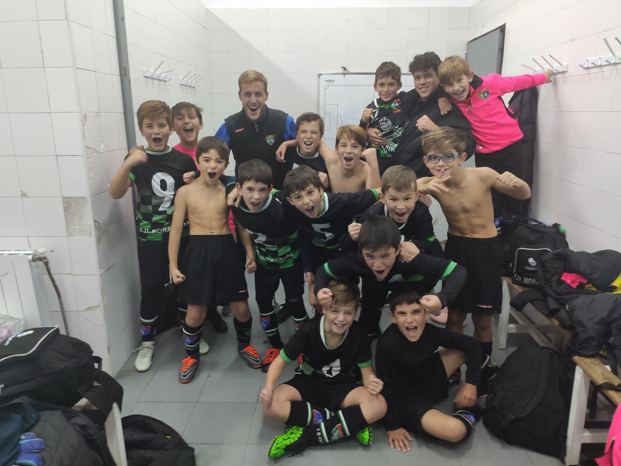 ¡El Benjamín A venció al Real Madrid !