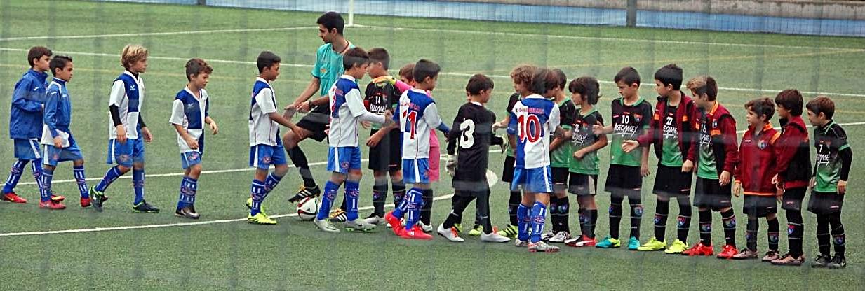 Crónica y fotos del partido Benjamín A 1 – 4 CD San Roque EFF A