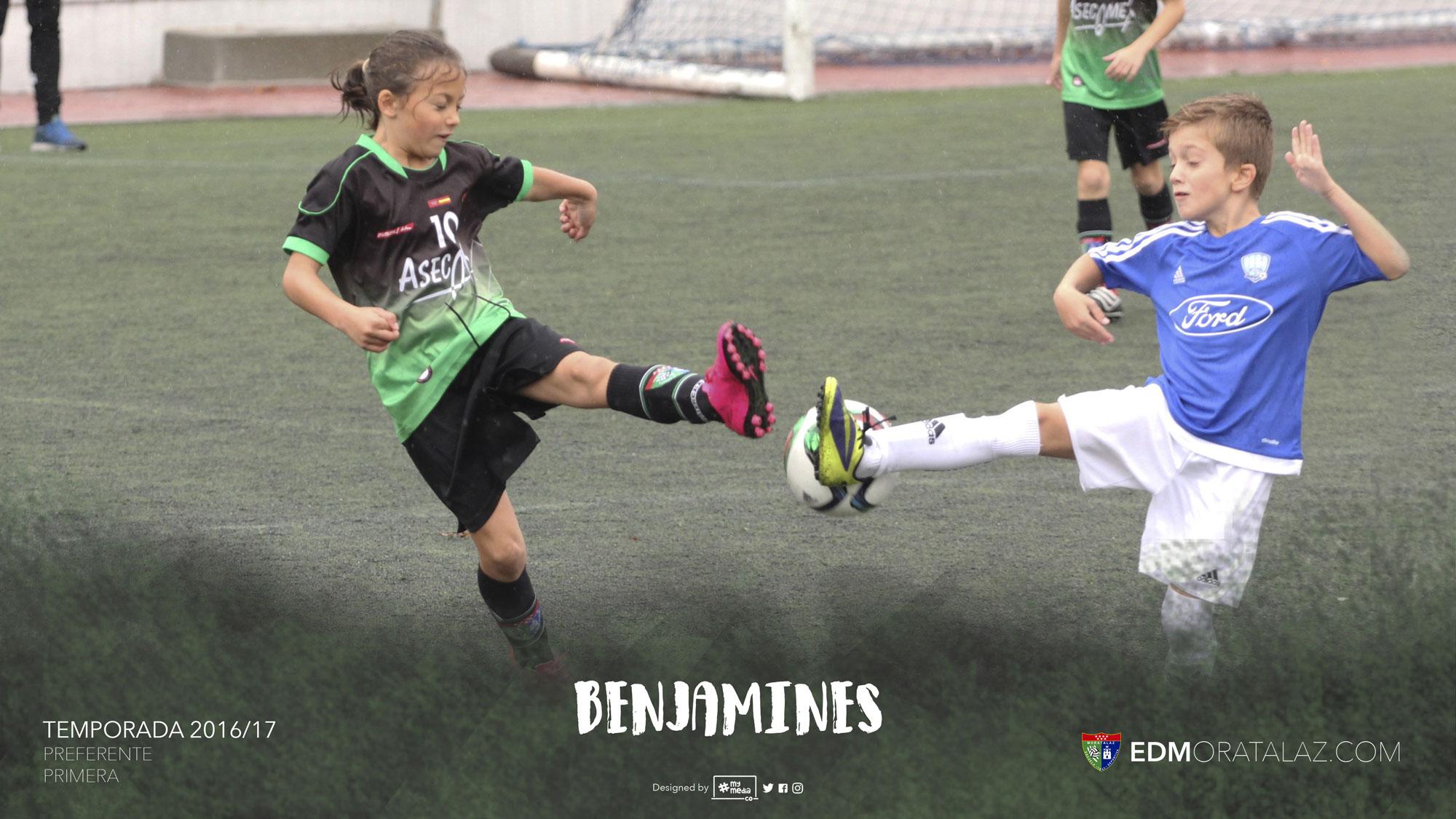Benjamines: resumen de la Temporada 2016/17