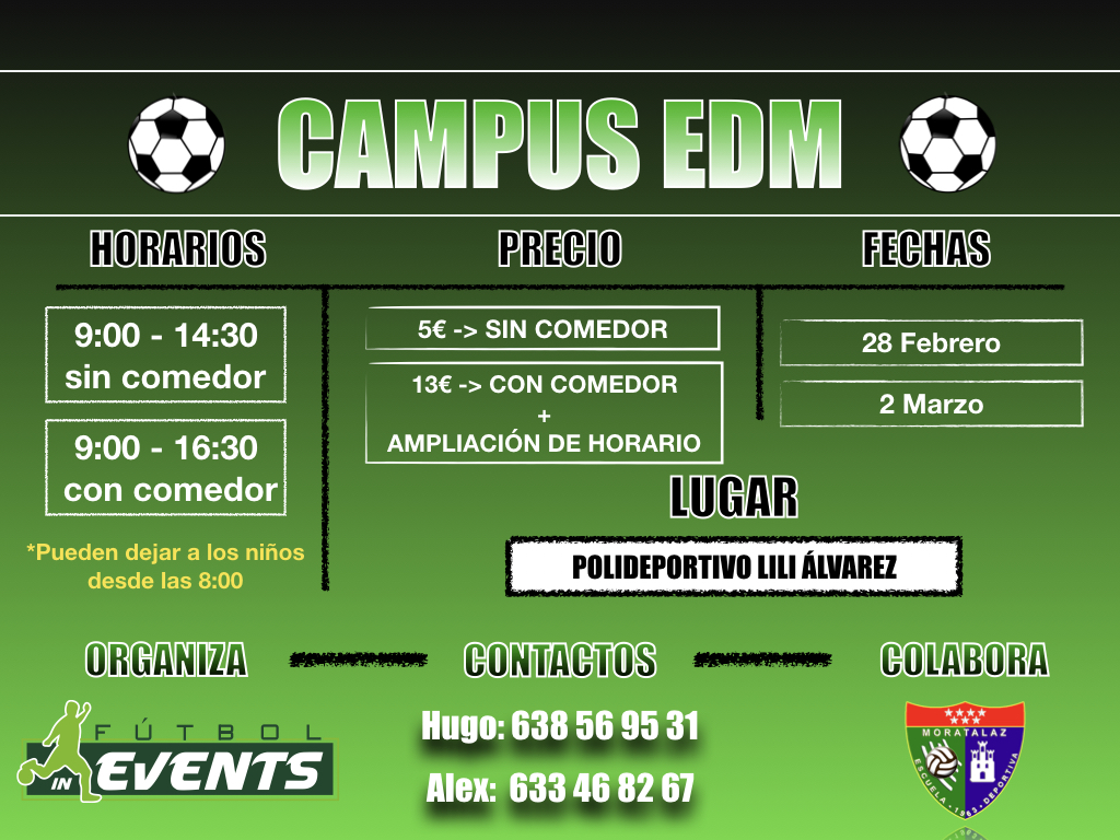 ¡Mini Campus EDM!
