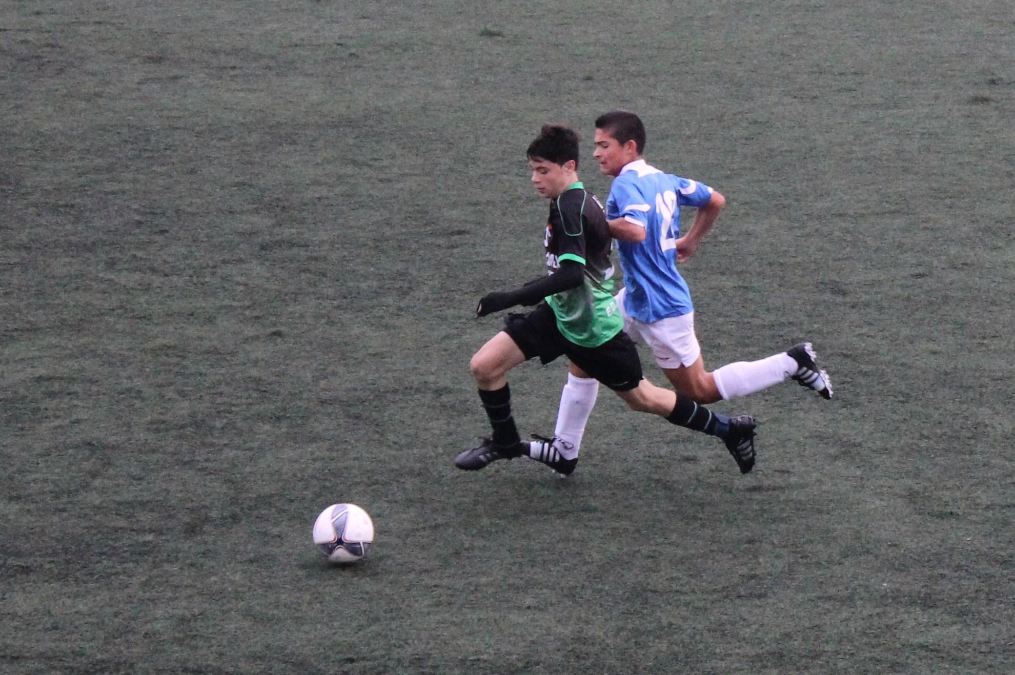 Fotos del partido de liga CD Vicálvaro A 0 – 1 EDM Infantil A