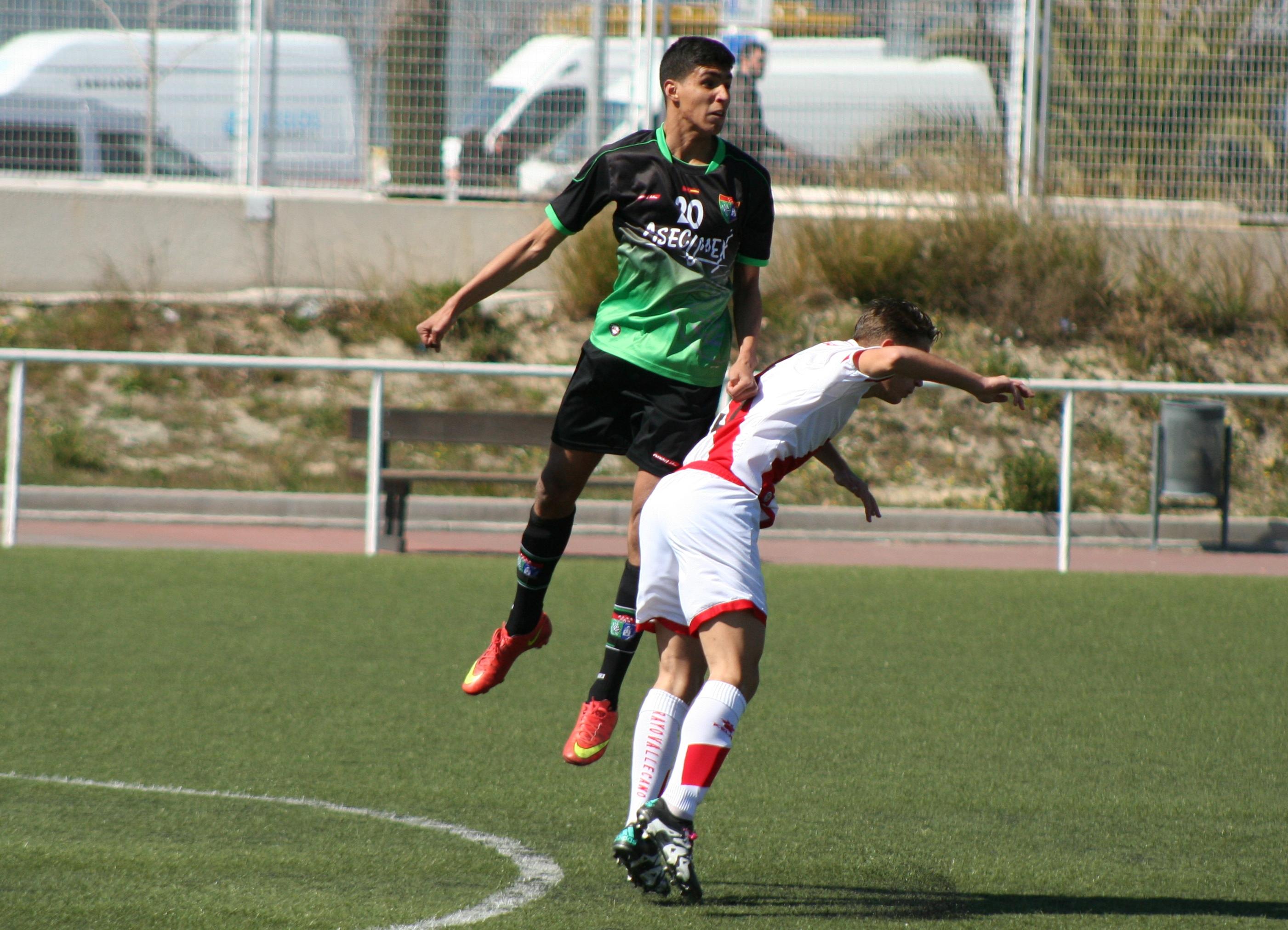 Fotos del partido de liga Rayo Vallecano A 1 -2 EDM Cadete A