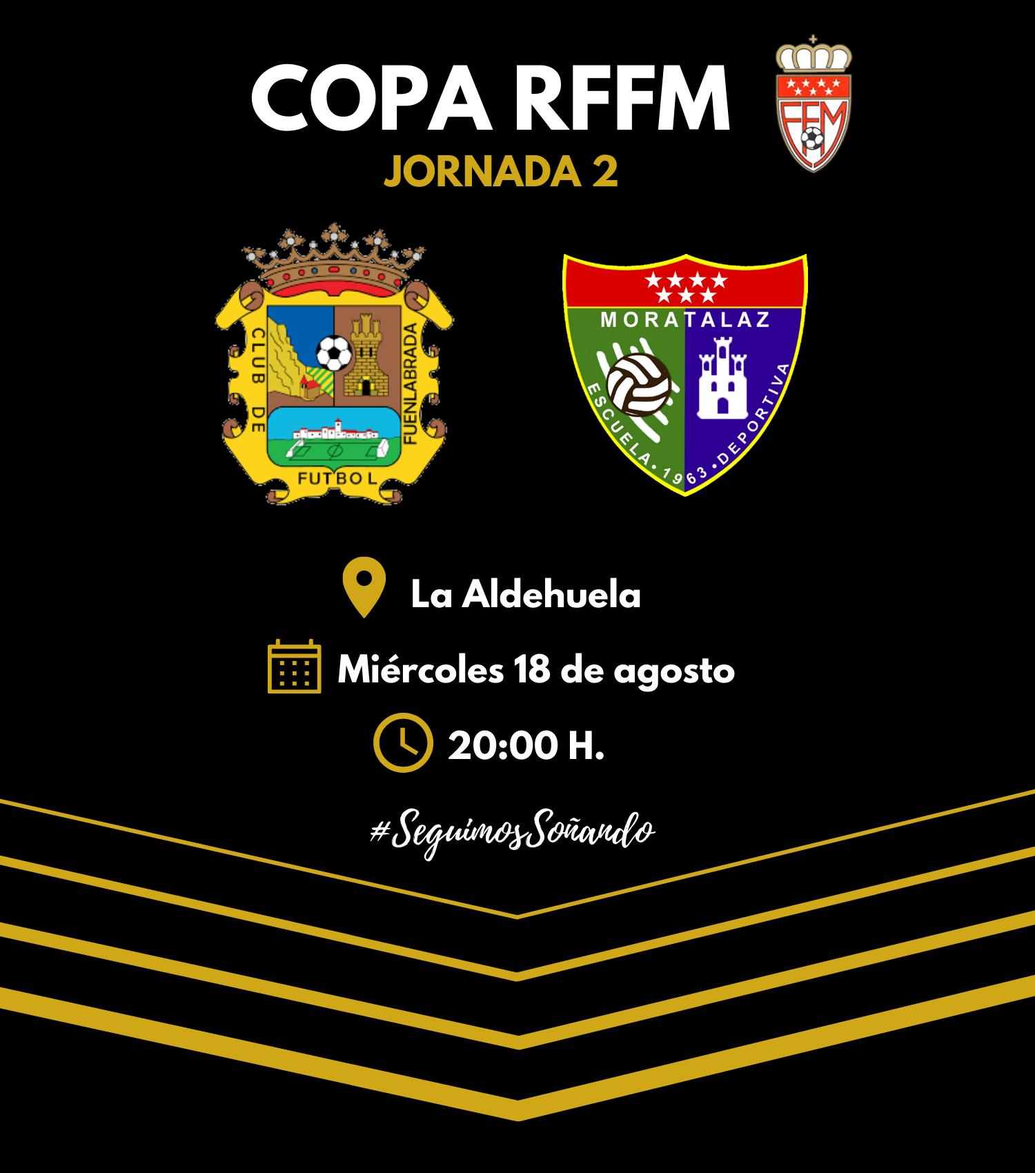 El Primer Equipo visita al CDE Madrid 2021 – Fuenlabrada Promesas en la jornada 2 de Copa RFFM