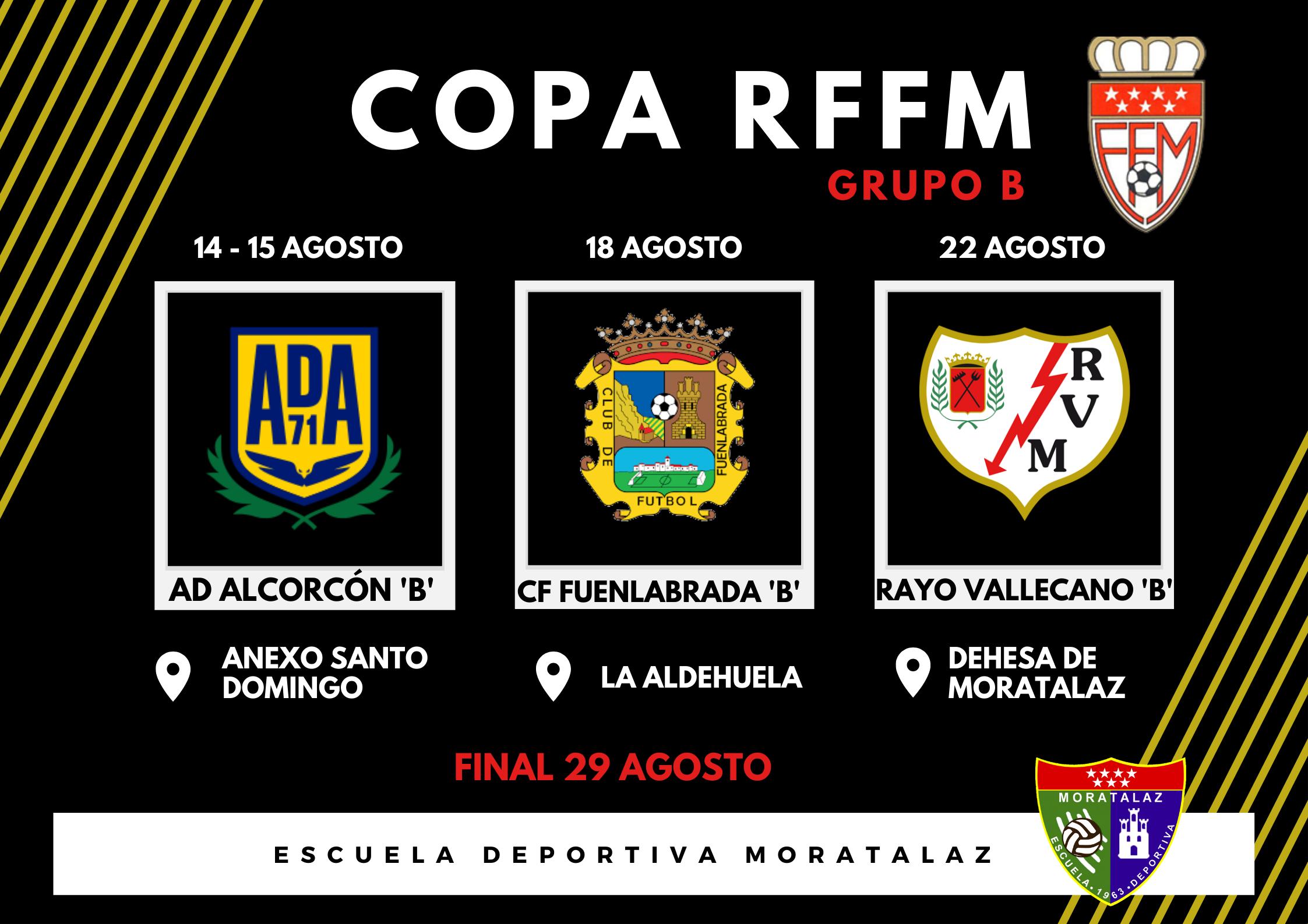 ¡El Primer Equipo jugará la Copa RFFM por primera vez!