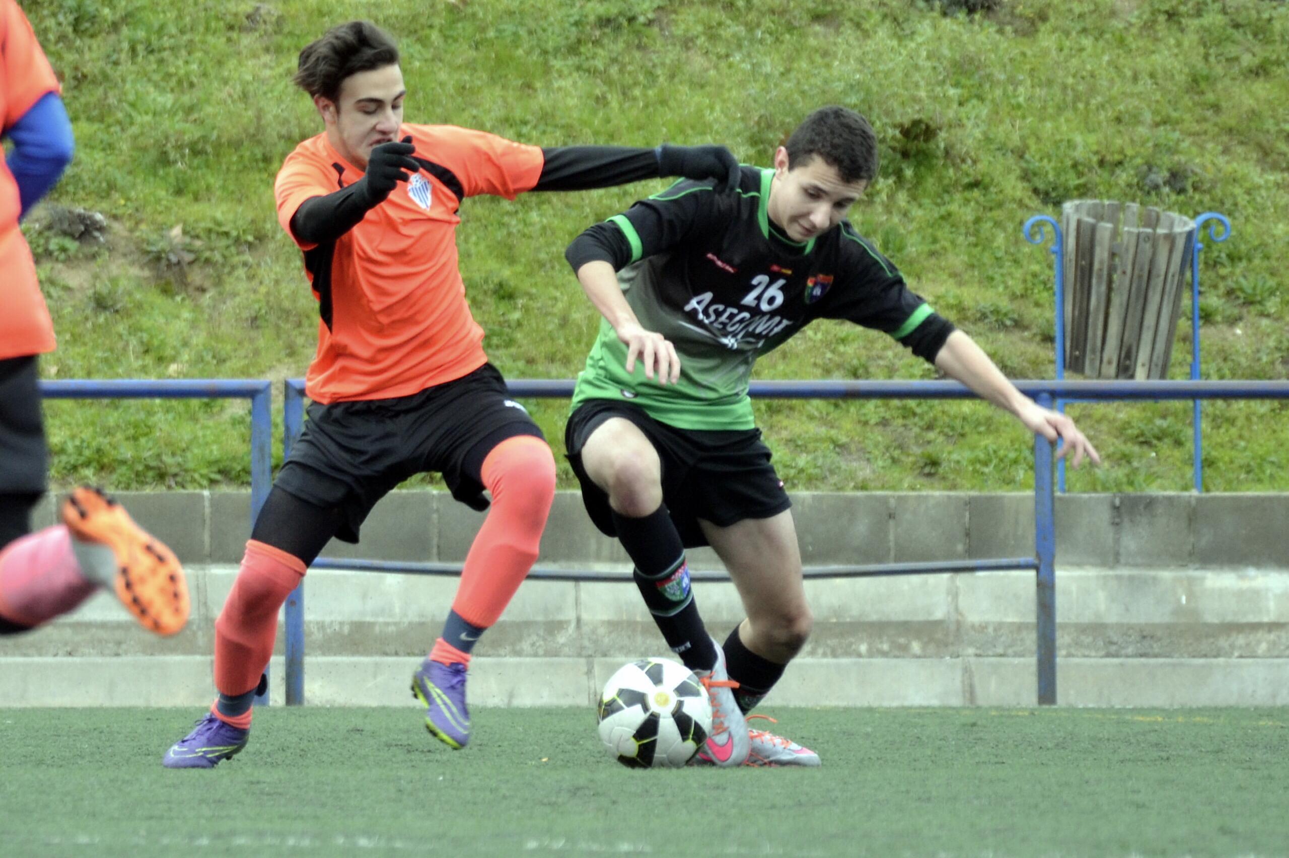 Crónica y fotos del partido de liga EDM Cadete C 0 – 2 Sporting Hortaleza A