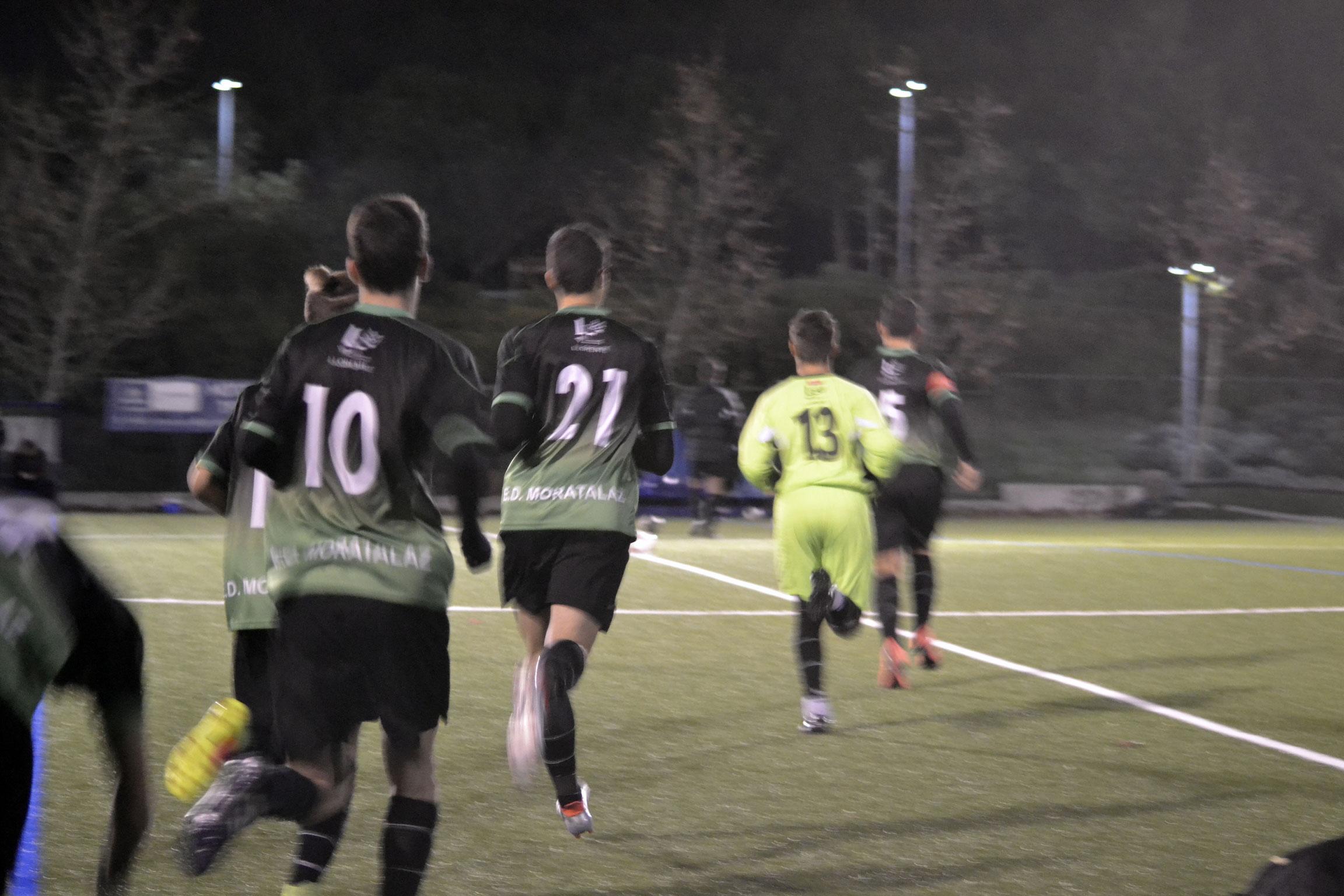 Crónica y fotos del partido Juvenil D 4-3 F. Rayo Vallecano B