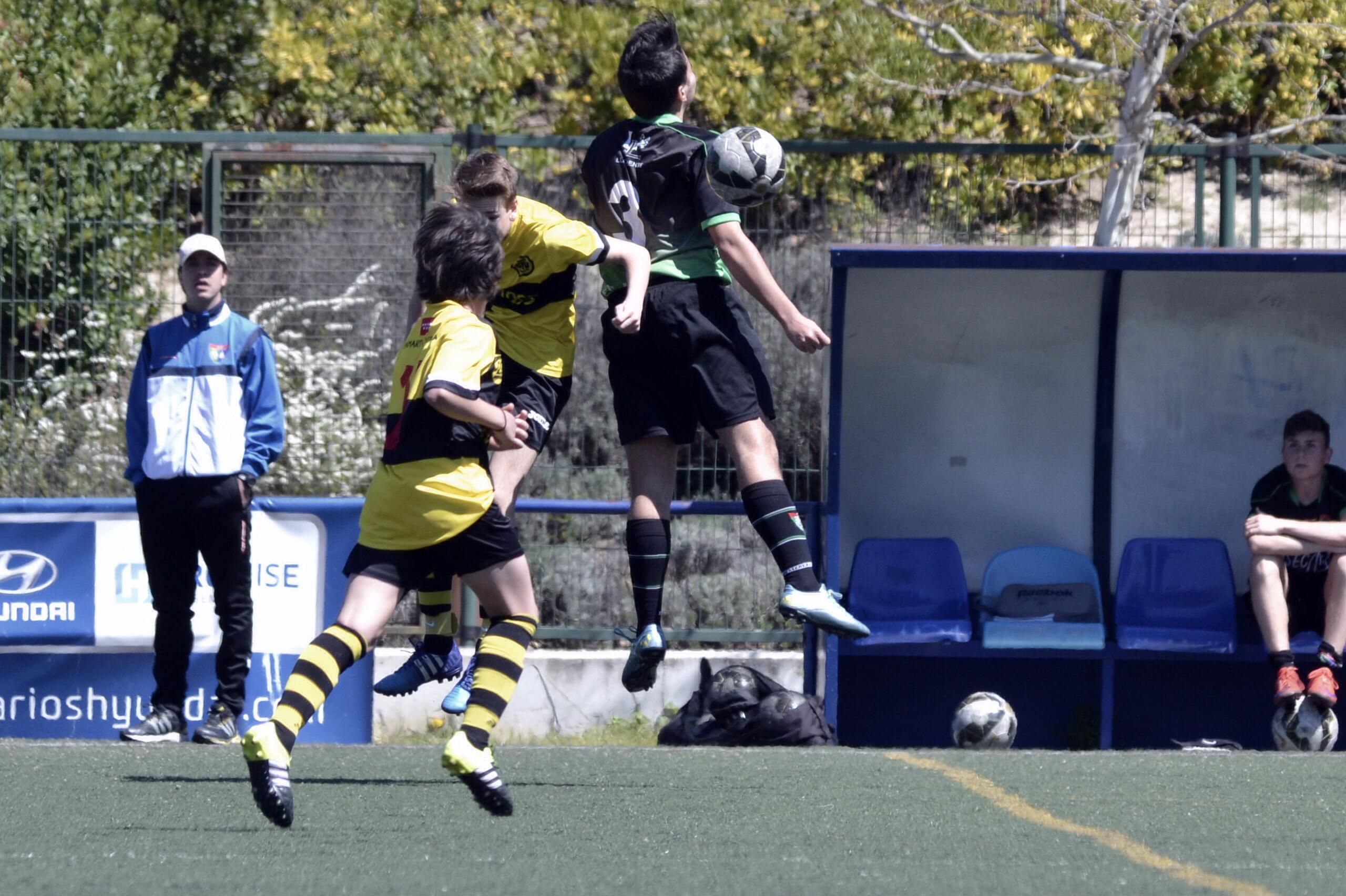 Crónica y fotos del partido de liga EDM Cadete C 1 – 1 CD Chamartín Vergara B