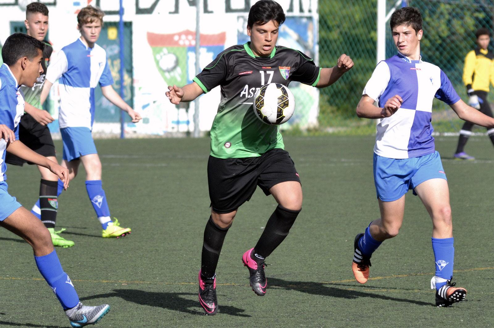 Crónica y fotos del partido de liga EDM Cadete C 2 – 0 Aravaca CF C