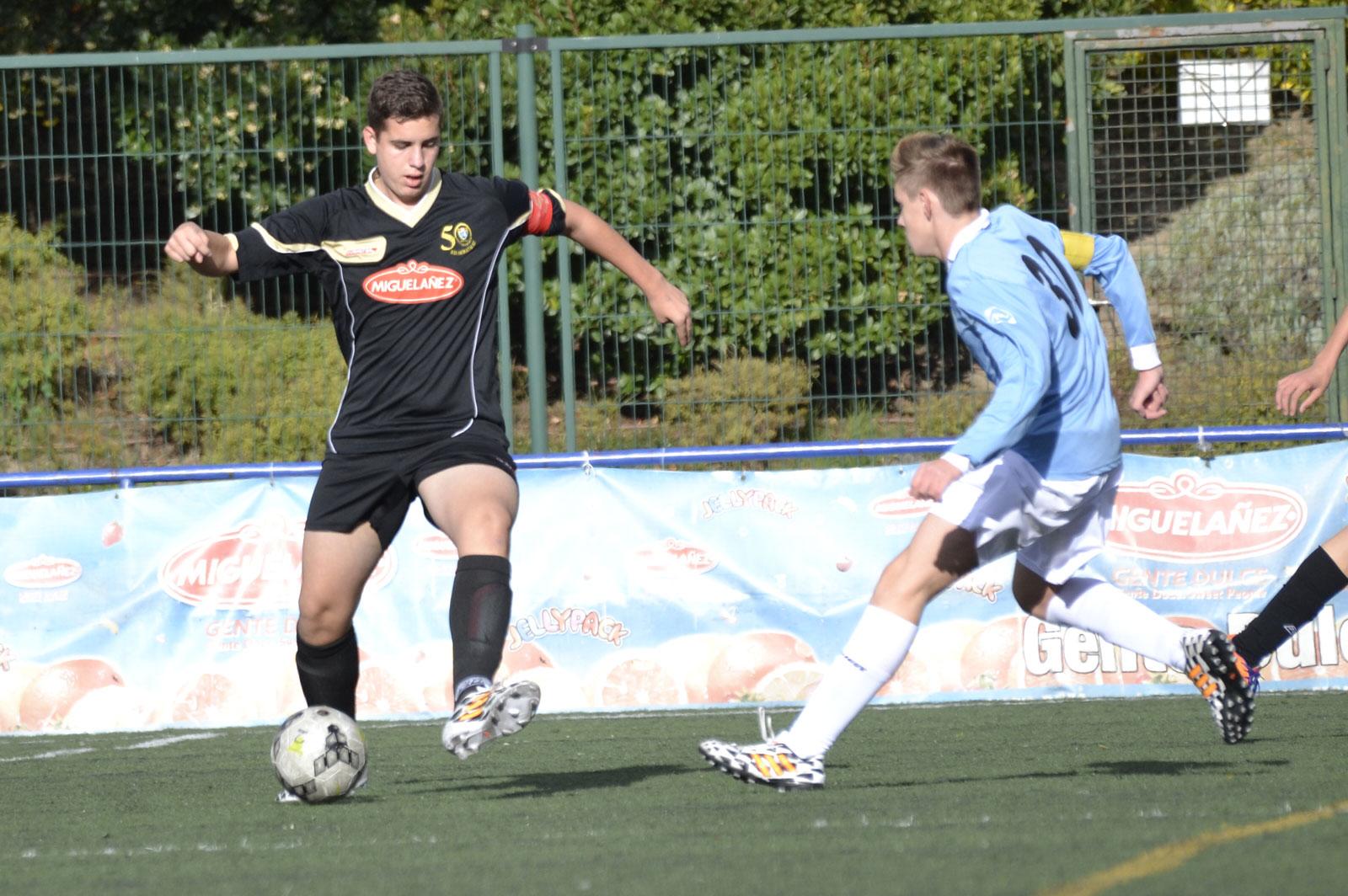 EDM Cadete E  2 – 2  AD Escuela de Fútbol Usera B