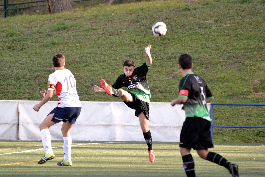 Crónica y fotos del partido de liga EDM Cadete C1 – 2 AD Fundación A
