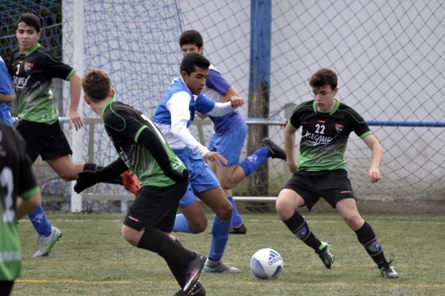 Fotos del partido de liga Aravaca C - Cadete C