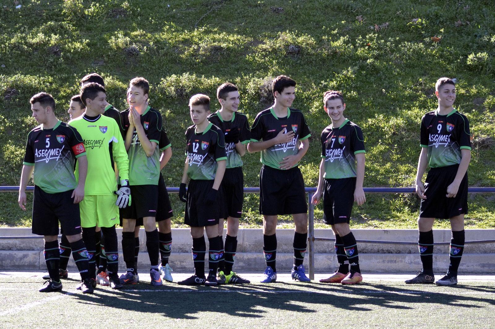 Crónica y fotos del partido de liga EDM Cadete C 5 – 0 EF Concepción B