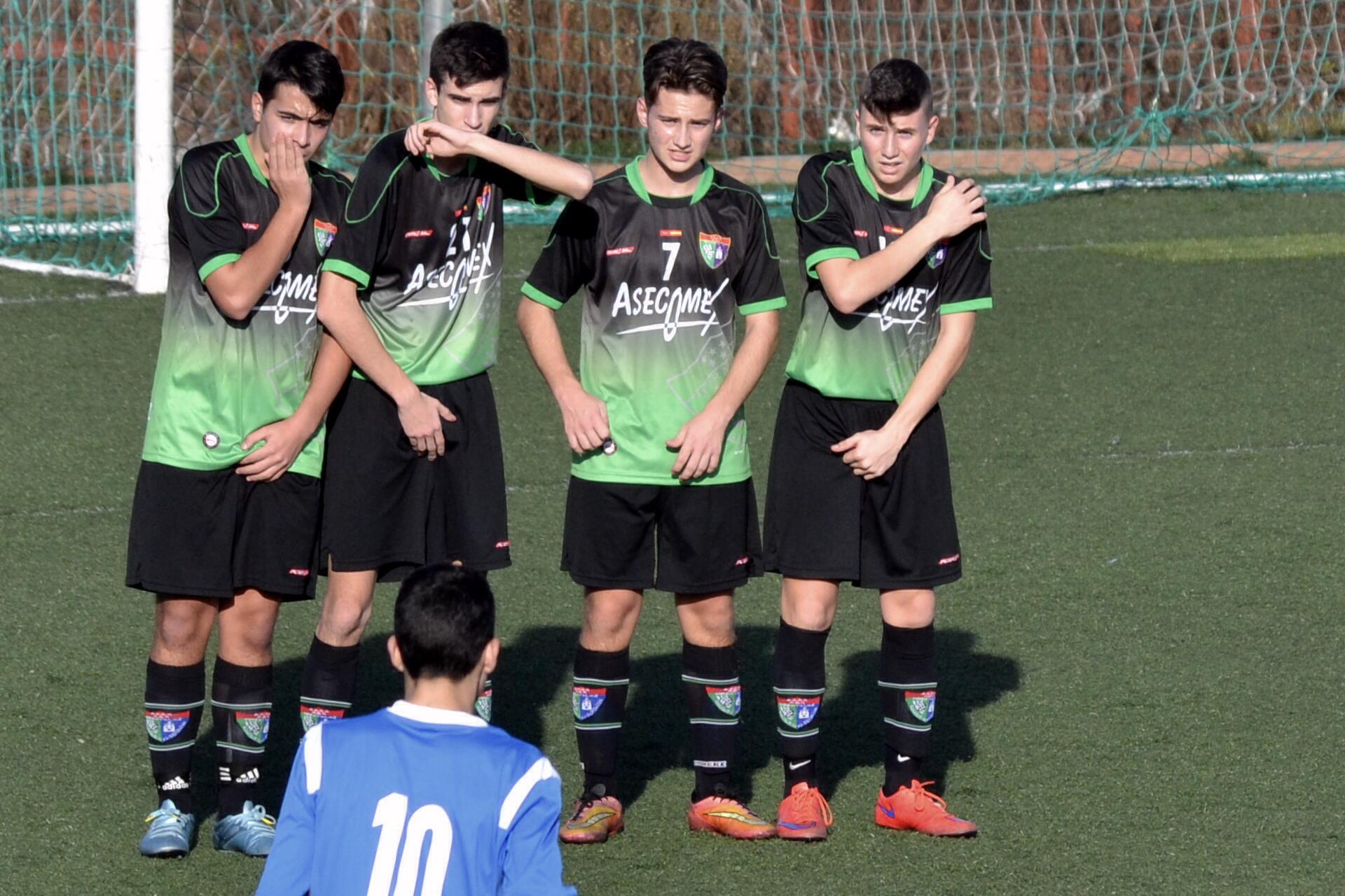 Crónica y fotos del partido de liga CD Vicálvaro C 2 – 0 EDM Cadete C