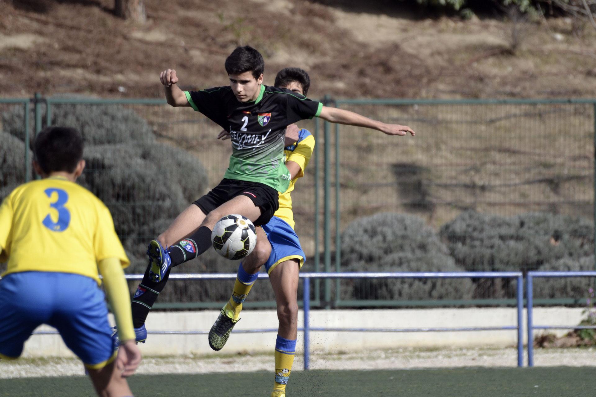 Crónica y fotos del partido de liga EDM Cadete C 0 – 3 DAV Santa Ana B