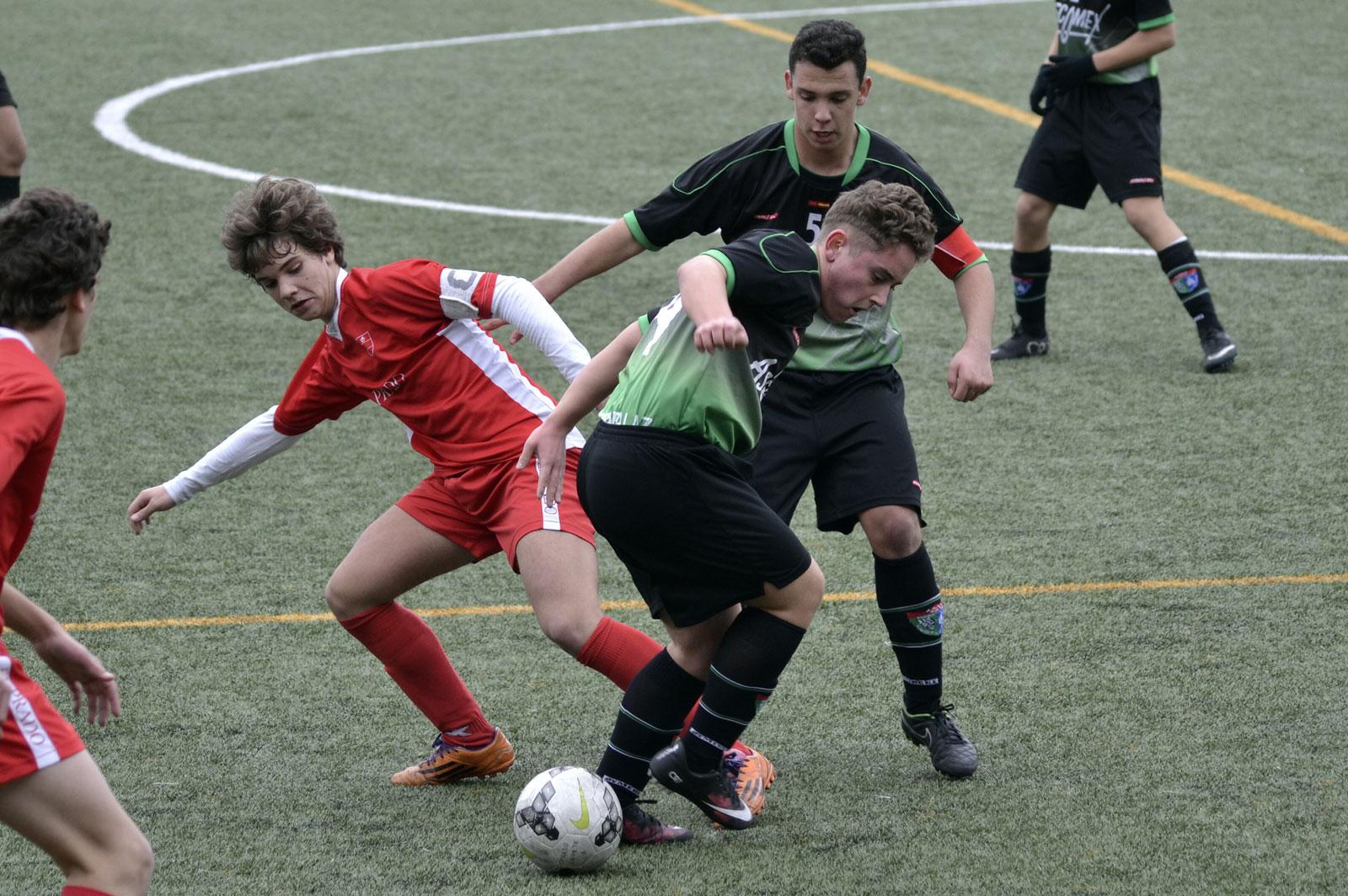 Crónica y fotos del partido de liga Colegio El Prado 1 – 3 EDM Cadete C
