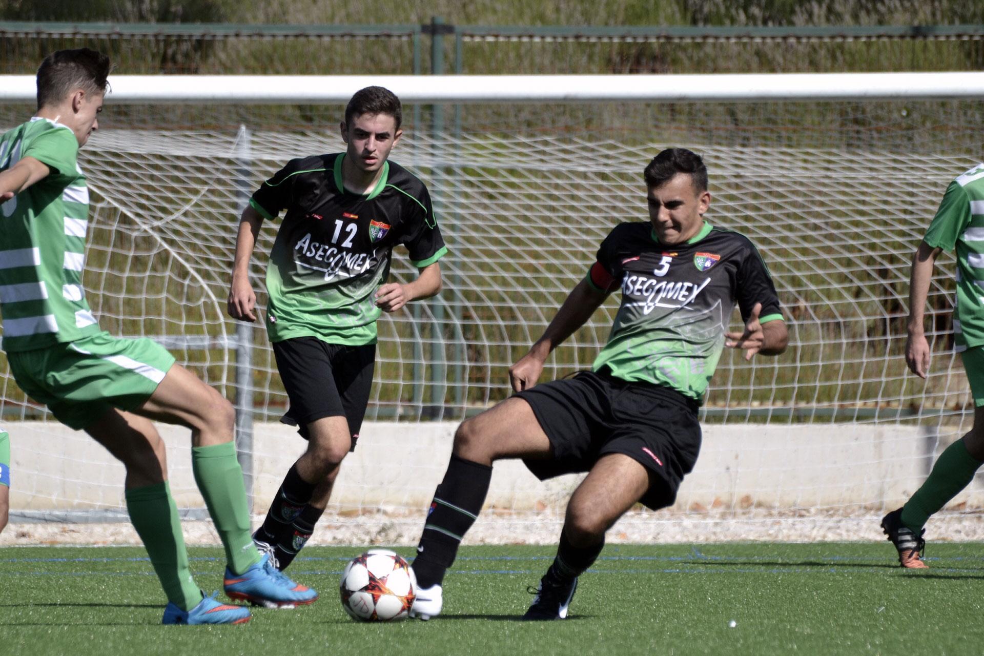 Crónica y fotos del partido EDM Juvenil D 1 – 3 Pasillo Verde Arganzuela A