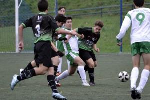 Crónica y fotos delpartido de liga EDM Cadete C - San José del Parque