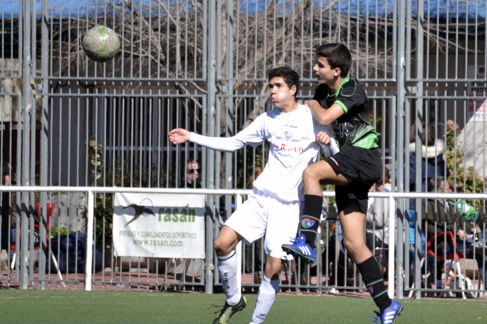 Crónica y fotos del partido de liga EDM San Blas B – EDM Cadete C