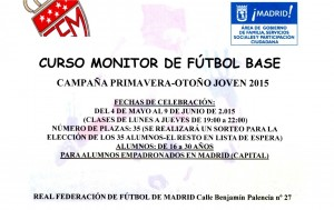 CURSO MONITOR FUTBOL BASE
