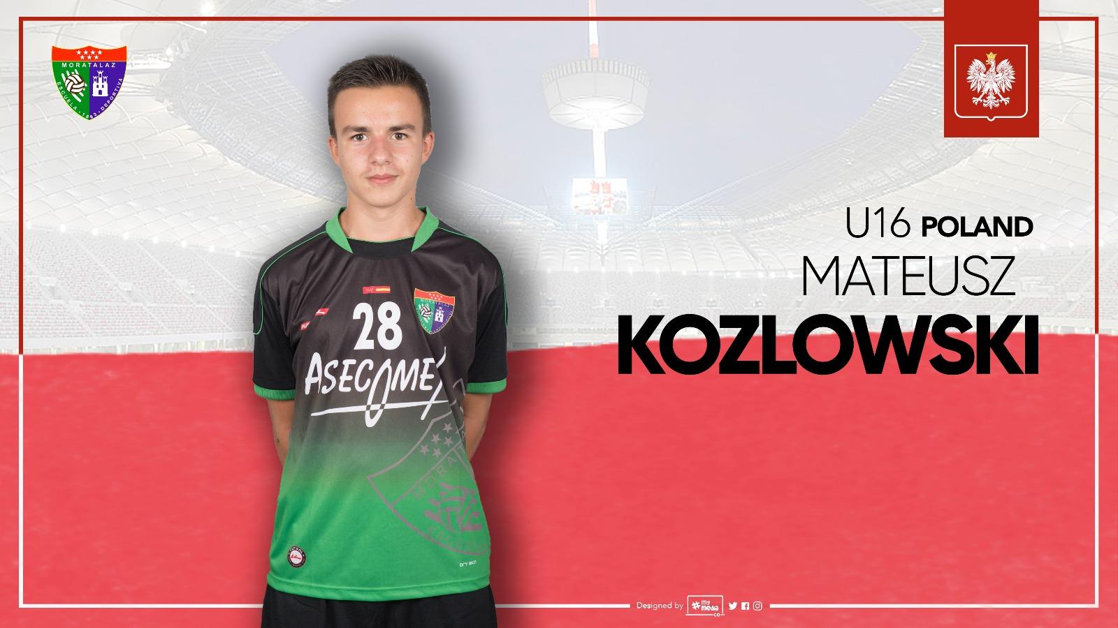 Mateusz Kozlowski convocado con la sub-16 de Polonia