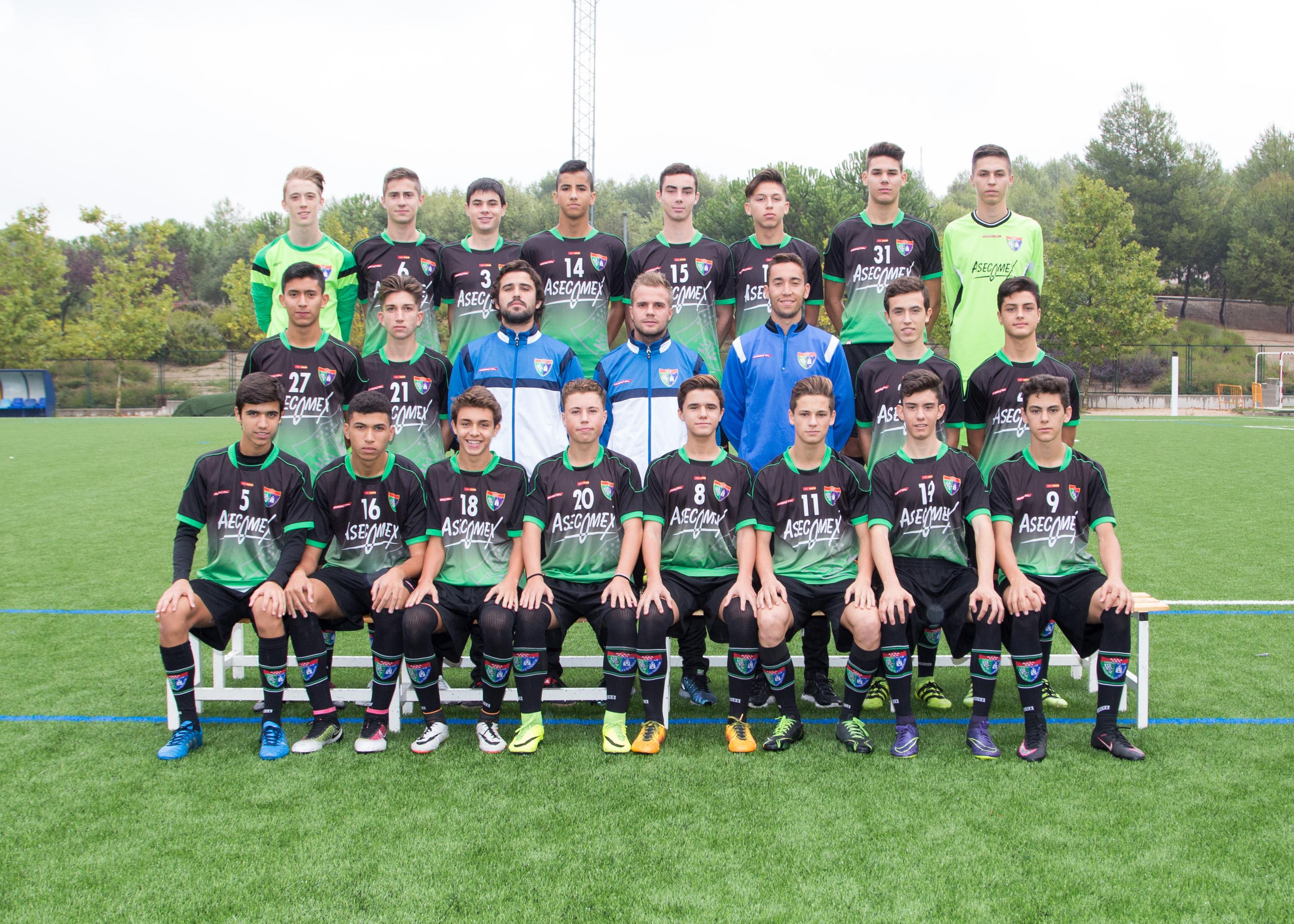 Alevín C, Infantil A y Cadete A de la EDM participan en la Madrid Youth Cup