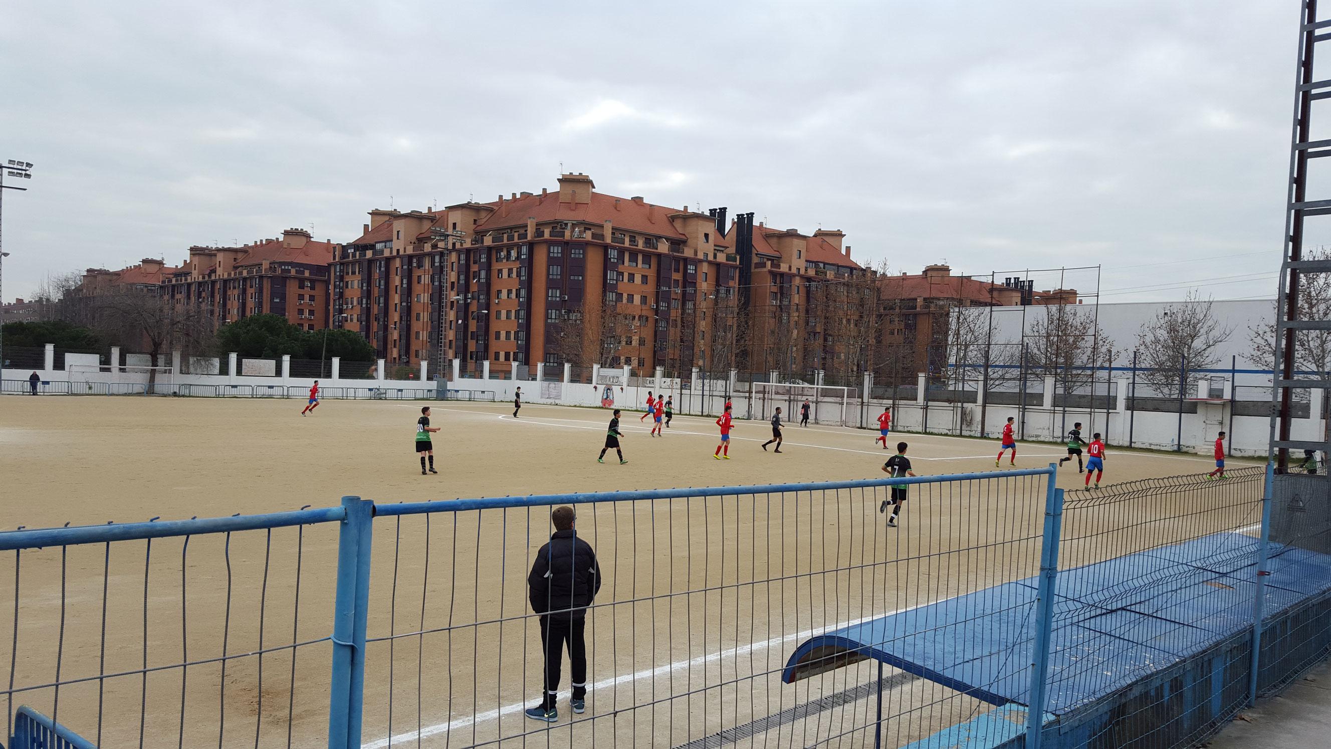 Crónica del partido de liga AD Orcasitas A 2 – 5 EDM Cadete B