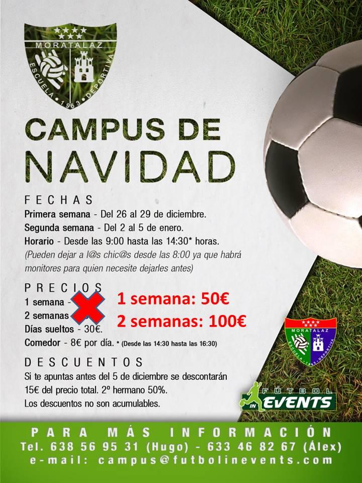 ¡Ofertón Campus de Navidad del Morata!