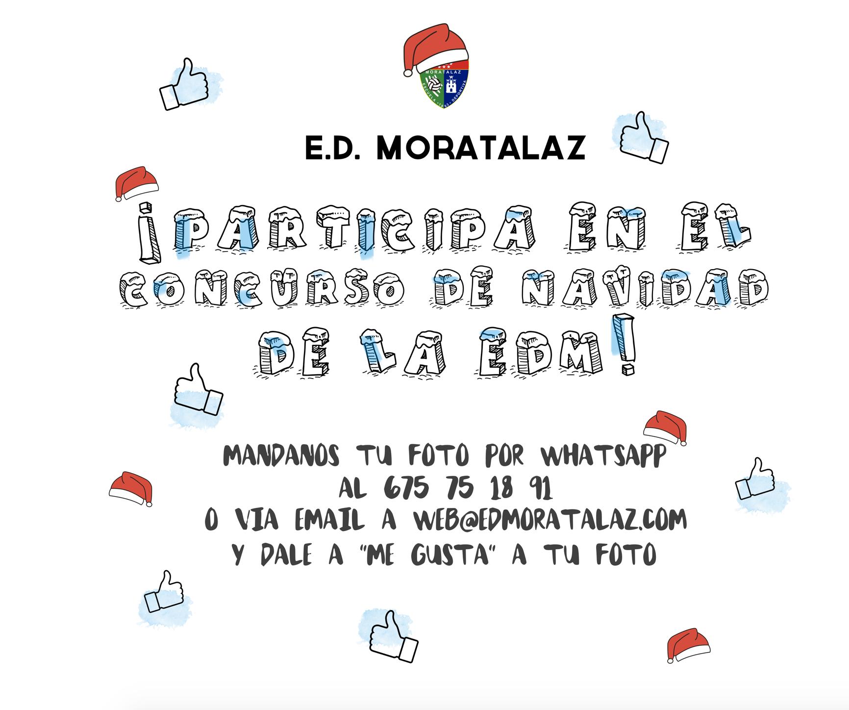 ¡Participa en el concurso navideño de la EDM!
