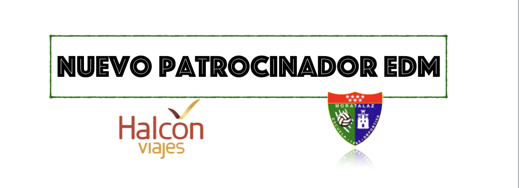 Halcón Viajes es nuevo patrocinador de la Escuela Deportiva Moratalaz