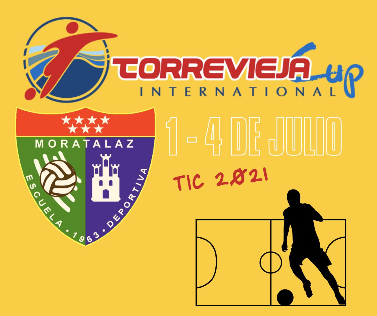 La Escuela Deportiva Moratalaz estará en la Torrevieja International Cup