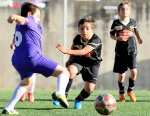 Fotos del partido de liga EF concepción D - EDM Benjamín B (4-7)