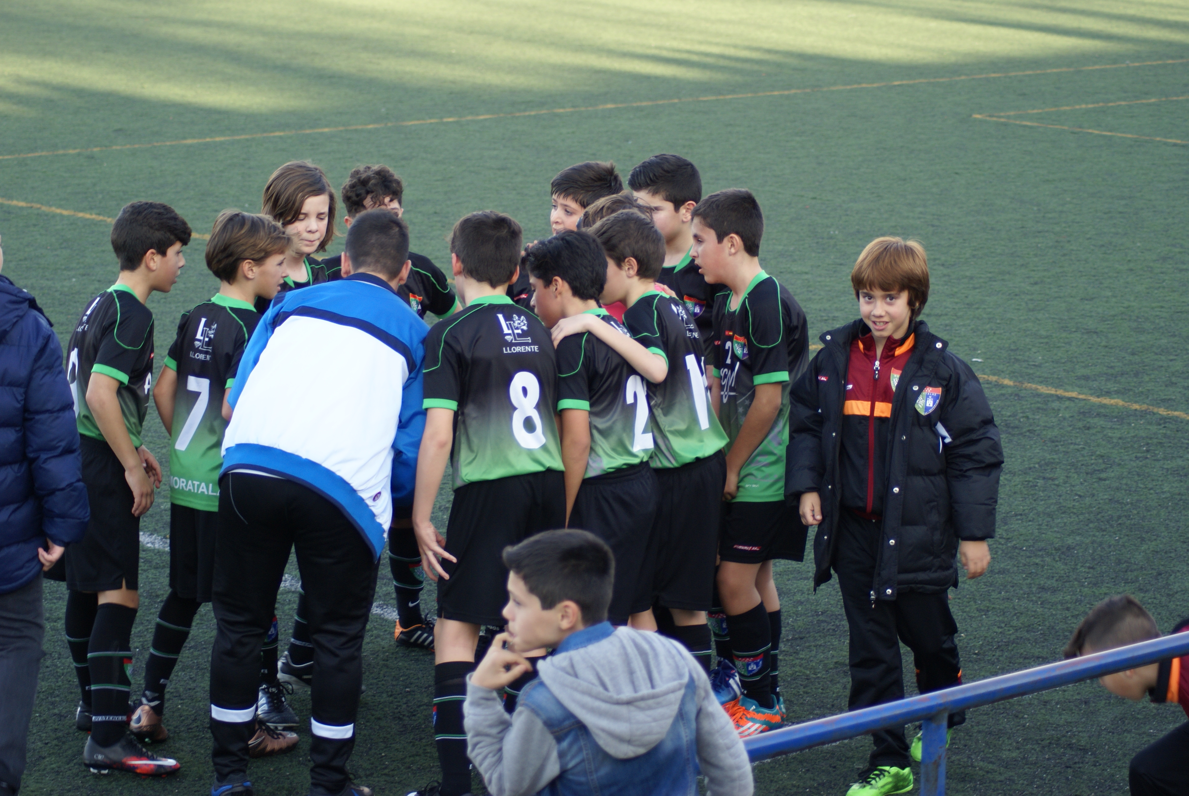 Fotos del partido de liga EDM Alevín A 7 – 1 RCD Carabanchel A