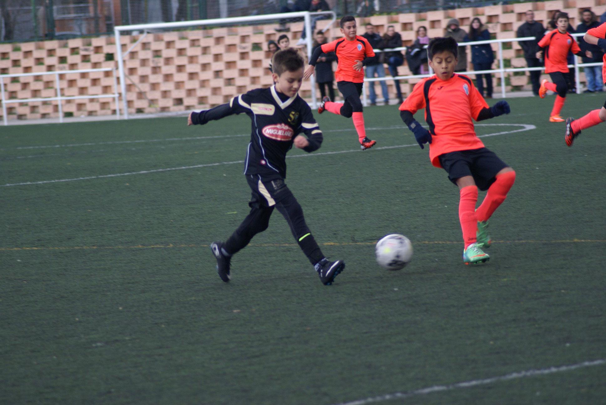 EDM Alevín C 4 – 0 AD Sporting Hortalez D