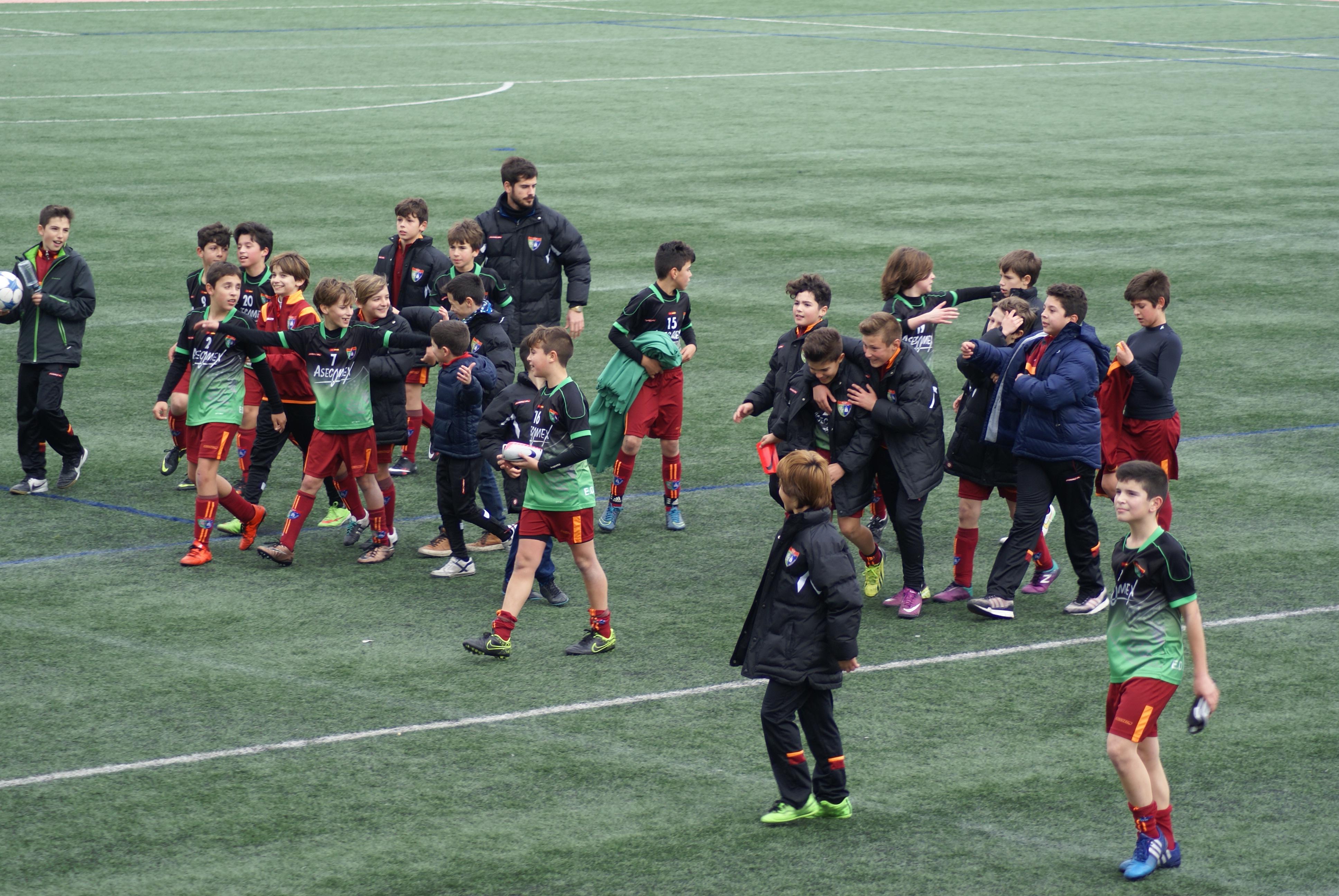 Fotos del partido de liga EF Arganda A 1 – 2 EDM Alevín A