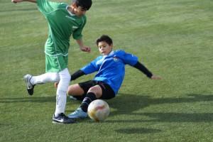 Foto del partido de liga Unión Valdebernardo A - EDM Infantil F