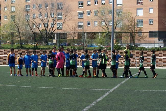 Foto del partido de liga Gredos San Diego Moratalaz - EDM Alevín B